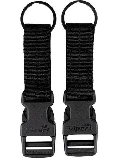 Viper VX Buckle Up Clip Set - Black