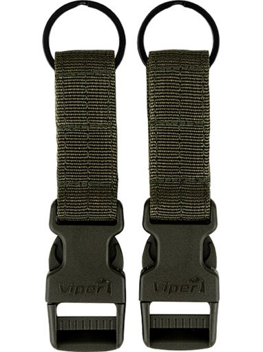 Viper VX Buckle Up Clip Set - Green