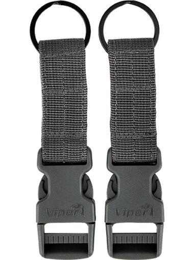 Viper VX Buckle Up Clip Set - Titanium