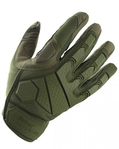 Kombat UK Alpha Tactical Gloves - Olive Green