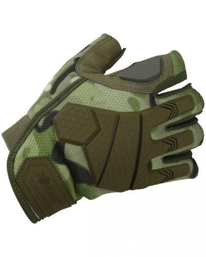 Kombat UK Alpha Fingerless Tactical Gloves - BTP