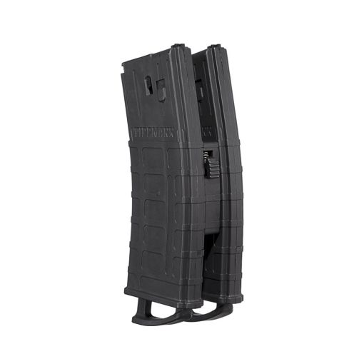 Tippmann TMC Magazine - 2 Pack with Coupler - Black