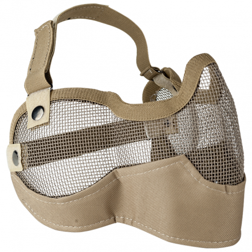 Valken V Tactical 2G Wire Mesh Tactical Mask-Tan