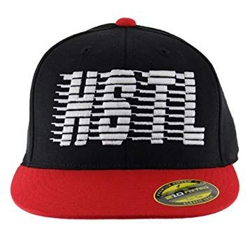 HK Fitted HSTL Cap - Red-L/XL