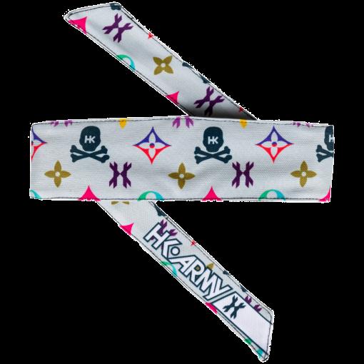 HK Headband - Monogram Bone/Multi