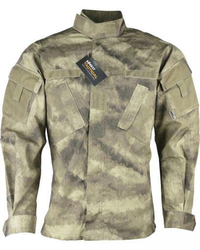 Kombat UK Assault Shirt - ACU Style - Smudge Kam - XL