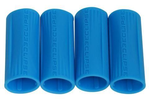 Eclipse Shaft FL Rubber Barrel Sleeve x 4 - Blue