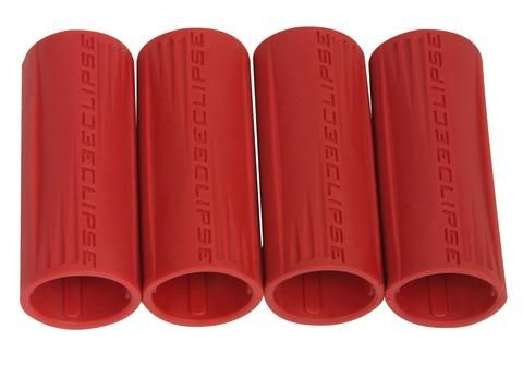 Eclipse Shaft FL Rubber Barrel Sleeve x 4 - Red