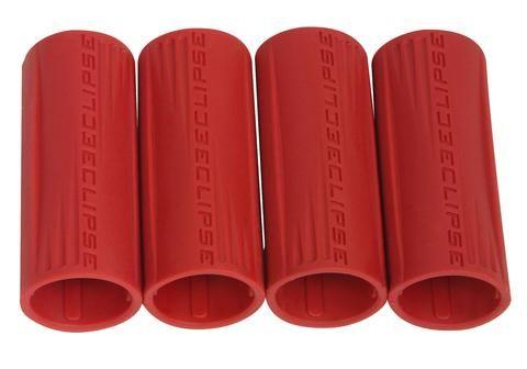 Eclipse Shaft FL Rubber Barrel Sleeve x 4 - Red