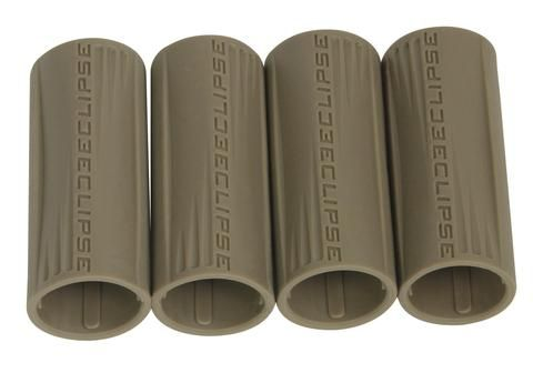 Eclipse Shaft FL Rubber Barrel Sleeve x 4 - Tan