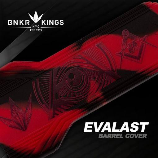 BunkerKings Evalast Barrel Condom  - Conspiracy - Red