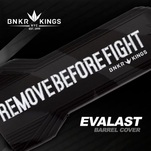 BunkerKings Evalast Barrel Condom  - Remove Before Fight - Black