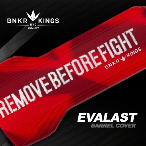 BunkerKings Evalast Barrel Condom  - Remove Before Fight - Red