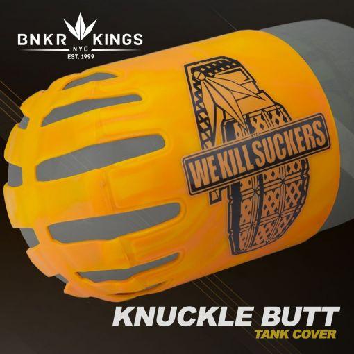 Knuckle Butt Tank Cover - WKS Grenade - Orange