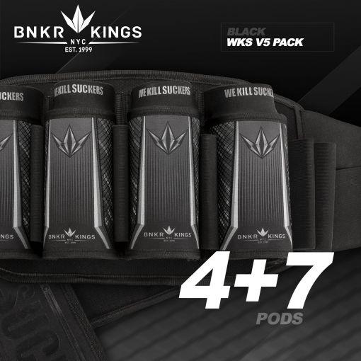 Bunker King Strapless Pack V5 - WKS 4+7 - Black