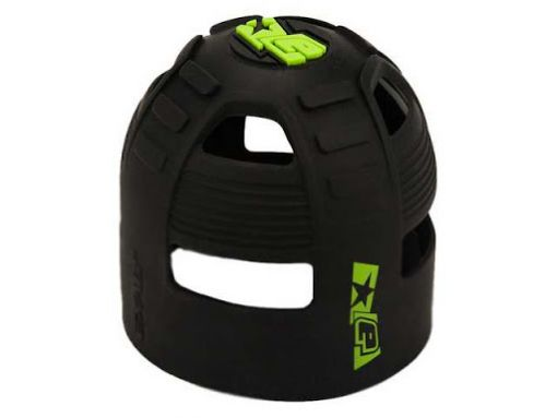 Eclipse Tank Grip - Black/Lime