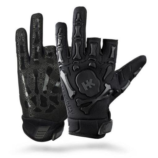 HK Army Bones Gloves - Black/Black