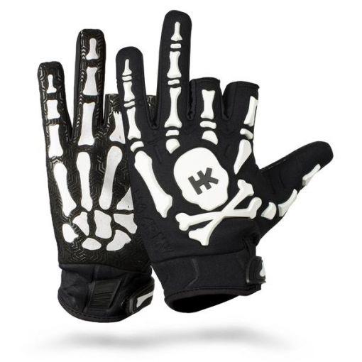 HK Army Bones Gloves - Black/White