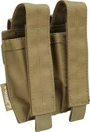 Viper Modular Double Pistol Mag Pouch - Coyote