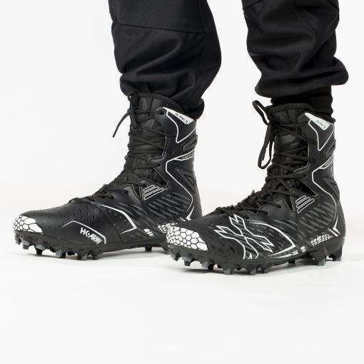 HK Army Diggerz_X1 1.5 Hightop Cleats - Black/Grey