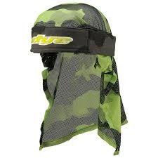 DYE Head Wrap - Bomber Grey Lime