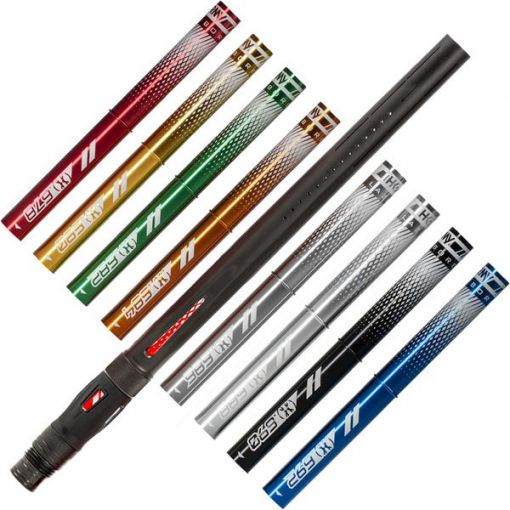 HK Army LAZR Barrel Kit - Coloured Inserts - Black - Luxe Thread
