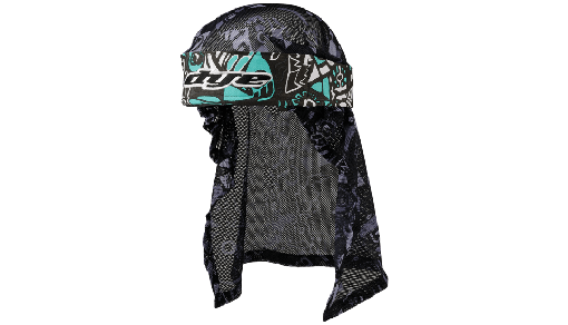 DYE Head Wrap - Eskimo Teal/Grey/Black