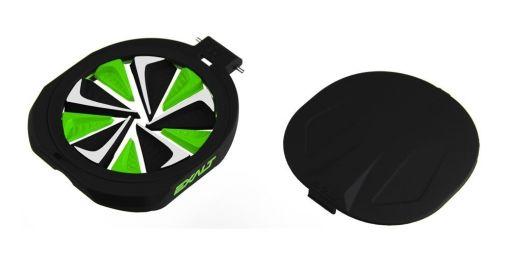 Exalt Spire Fastfeed - Black/Lime/White