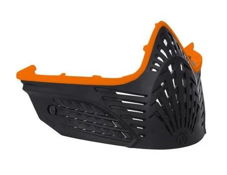 Virtue Extend Face Mask - Orange/Black