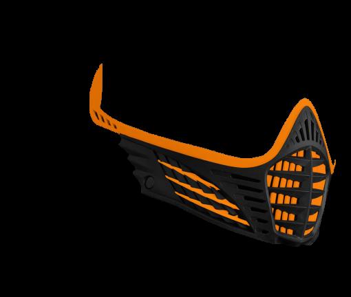 VIO Face Mask - Orange/Orange/Black
