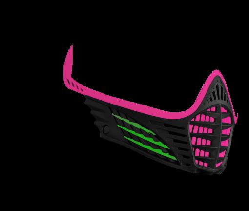 VIO Face Mask - Pink/Lime/Black - Pink/Lime/Black