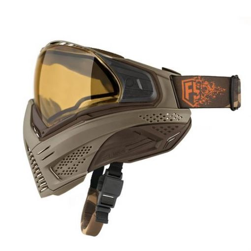 First Strike X Push Unite Mask - Tan/Brown