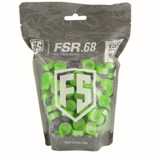 First Strike FSR Rounds 150 Count - Green Fin/Green Fill