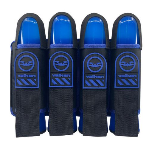 Valken Alpha 4 Pod Harness - Blue (with 4 free pods)