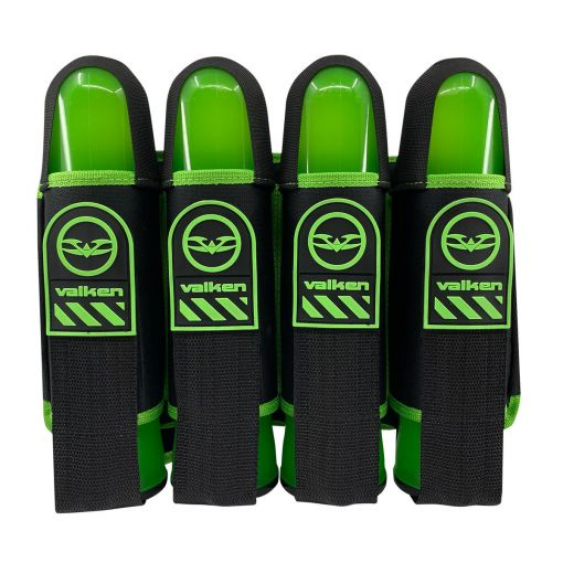 Valken Alpha 4 Pod Harness - Green (with 4 free pods)