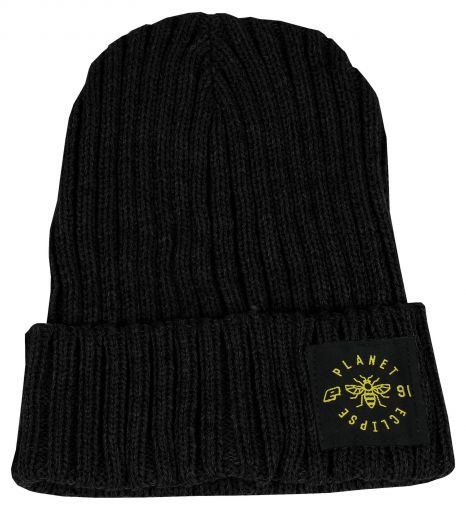 Eclipse Worker Beanie - Black