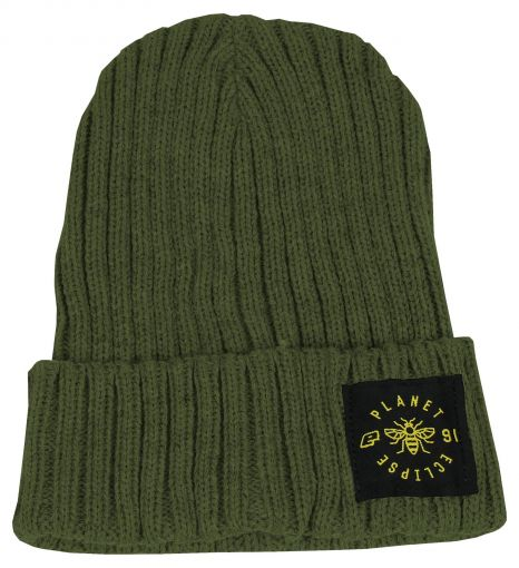 Eclipse Worker Beanie - Moss Green