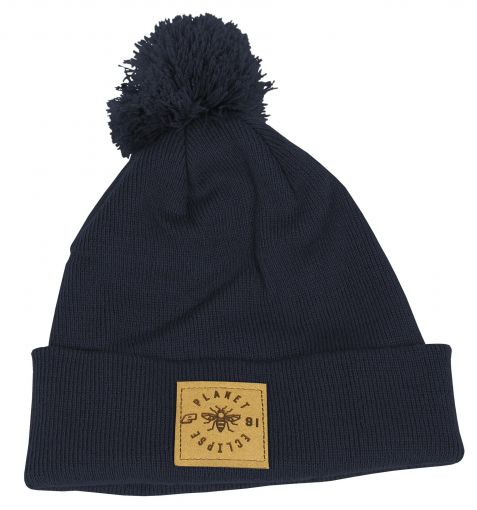 Eclipse Worker Pom Beanie - French Navy