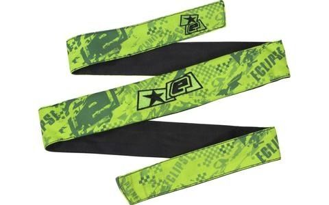 Eclipse Fracture Headband - Lime