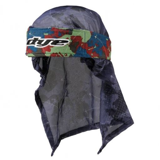 DYE Head Wrap - Global Blue/Red/Light Green