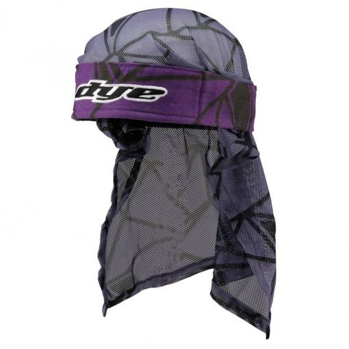 DYE Head Wrap - Infused Purple/Black/Grey