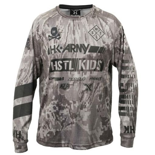 HK Dryfit Long Sleeve - Hostile Camo