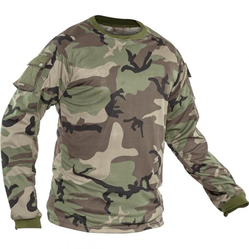 Valken KILO Combat Shirt - Woodland