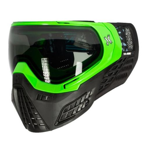 Hk Army KLR Goggle - Blackout - Neon Green