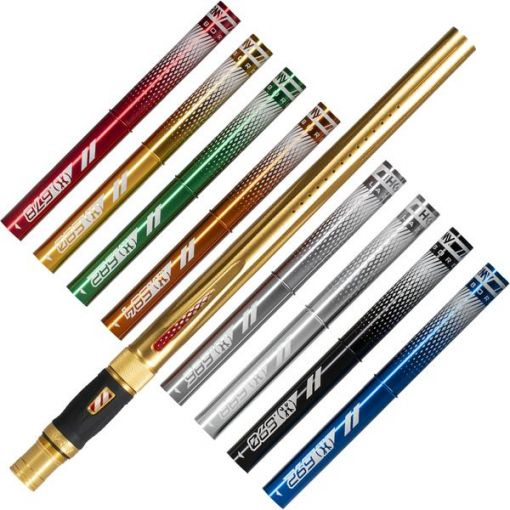 HK Army LAZR Barrel Kit - Coloured Inserts - Gold - Luxe Thread