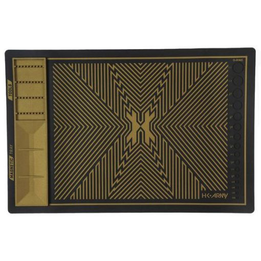 HK Army MagMat - Magnetic Tech Mat - Black/Gold