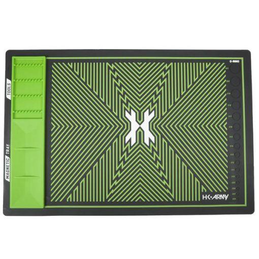 HK Army MagMat - Magnetic Tech Mat - Black/Neon Green