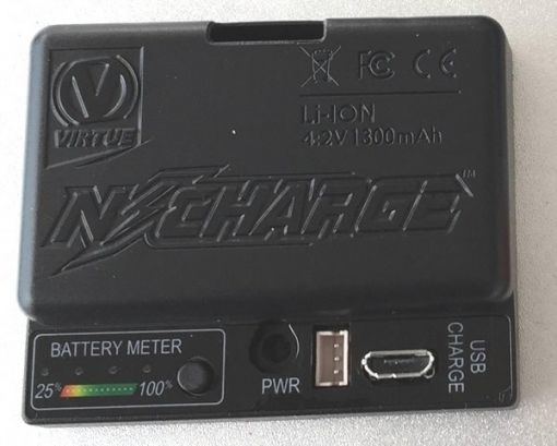 Virtue N-Charge Rechargeable Lithium Ion Battery Pack
