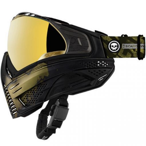 Push Unite Mask - Infamous Gold