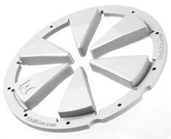 Exalt Rotor Feedgate - Silver